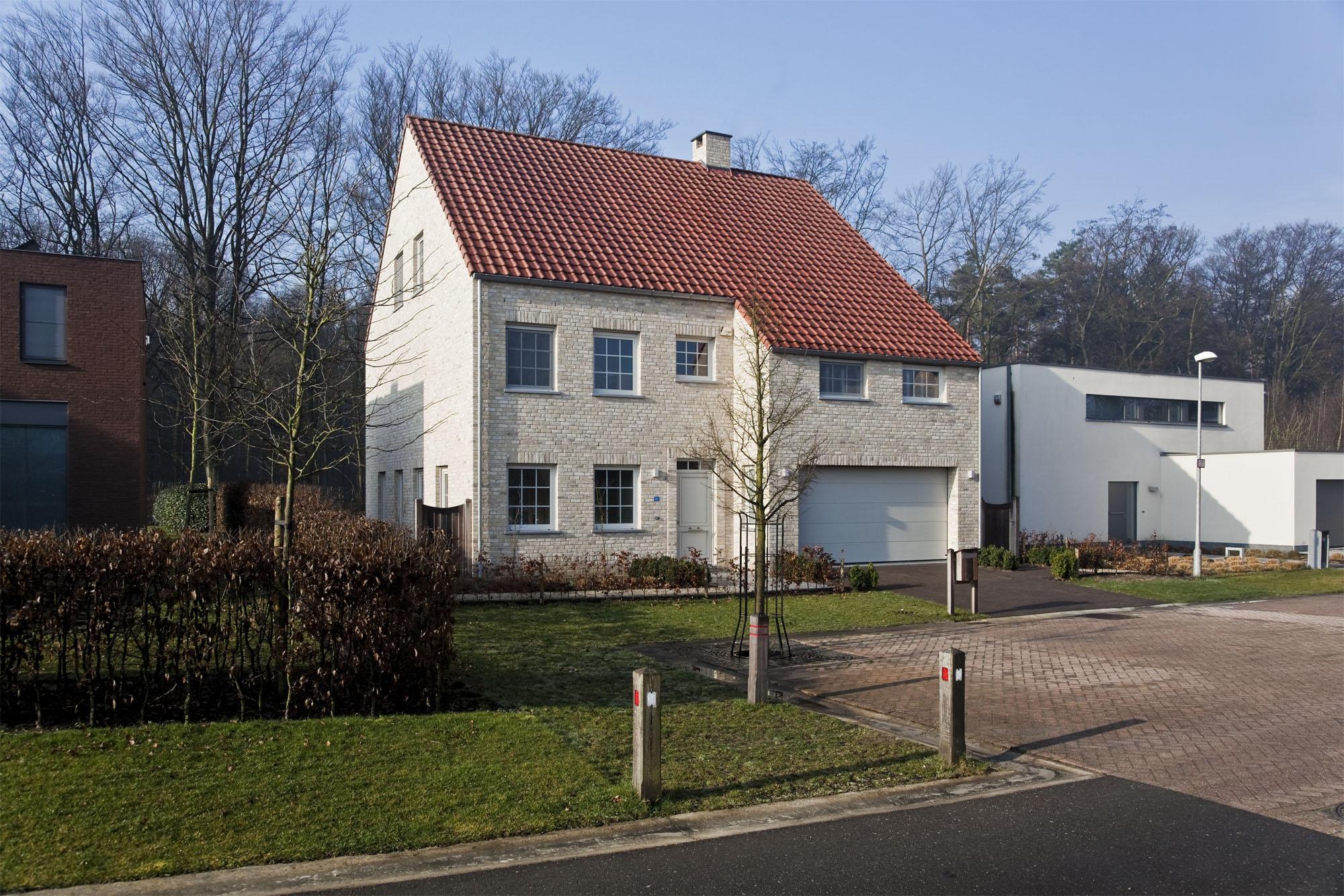 Hedendaagse landelijke woning - Ketswoningbouw