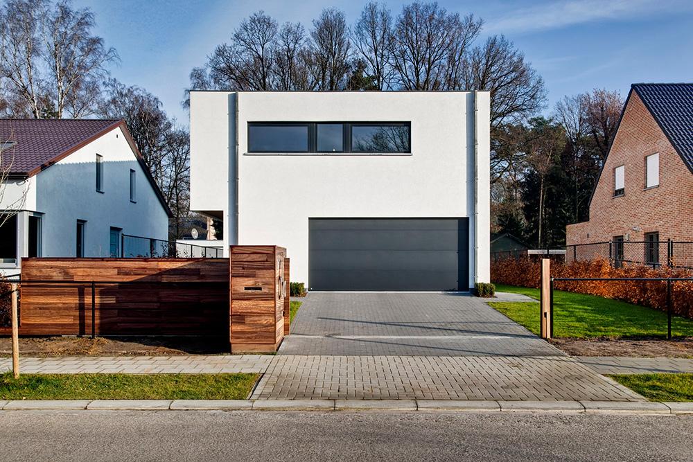 Moderne woning in crepi